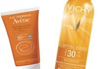 akce sluneční kosmetika VICHY Avene